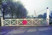 Manea Road Level Crossing Gate