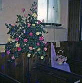 Floral Tribute Wimblington Methodist Chapel
