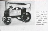 "Foden ""Sun"" Tractor 1930"