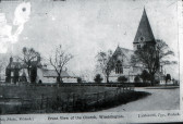 Wimblington Church and School 1906