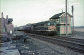Last Passenger Train to Leave Wimblington 1968