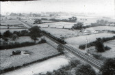 Eastwood End from Church Steeple 1957