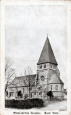 Wimblington Church - Back View 1910