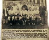 Wimblington Old Boys Football Team 1935/36