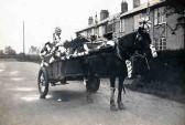 George Redhead Delivering Milk 1935