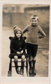 Cyril Parkinson and his Sister Myra 1924