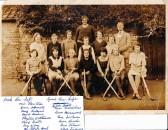 Wimblington School Hockey Team c1935