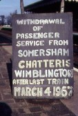The Last Train from Wimblington - 1967