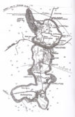 Early map of Wimblington, Doddington and March