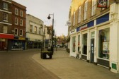 Wisbech High St on a Sunday morning taken from the market place. Photo by 8 year old Erin Lakey