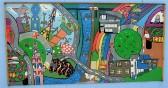 Fenland Schools Art project 10 around Wisbech Port Development.
