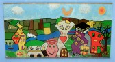 Fenland Schools Art project 14 around Wisbech Port Development.