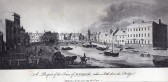 Wisbech An engraving by amateur engraver Dr Massey