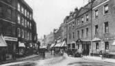 Wisbech High Street in the late 1920's
