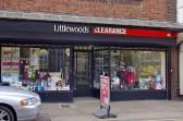Wisbech Shops 'Littlewoods Clearance' West Street. Copyright Owen Smithers