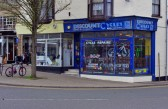 Wisbech Shops 'Cycle Discount' West Street. Copyright Owen Smithers