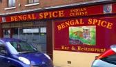 Wisbech Shops Norfolk Street 'Bengal Spice' Restaurant. Copyright Owen Smithers