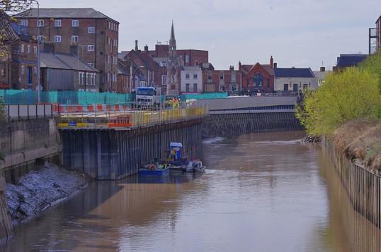 Wisbech Nene Quay Flood Defences Copyright Owen Smithers