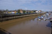 Wisbech River Nene Marina at low tide Copyright Owen Smithers