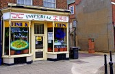 Wisbech 'Imperial' Chinese Take-A-Way Old Market Place. Copyright Owen Smithers