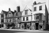 Wisbech Hugh Rawlinson Drapers Bridge Street & Post Office Lane. Postcard.
