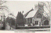 Post card of St Peter's and St Paul's chruch.