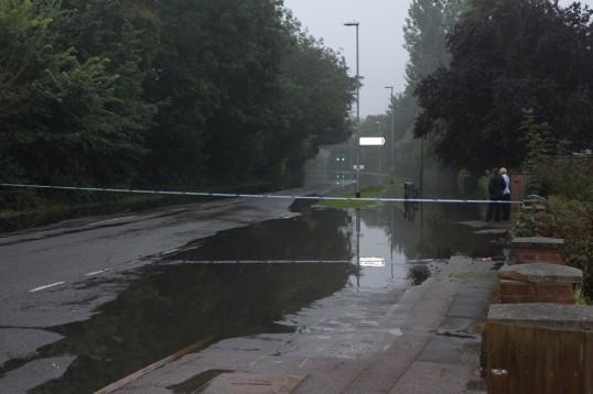 Flood, Harecroft Road
