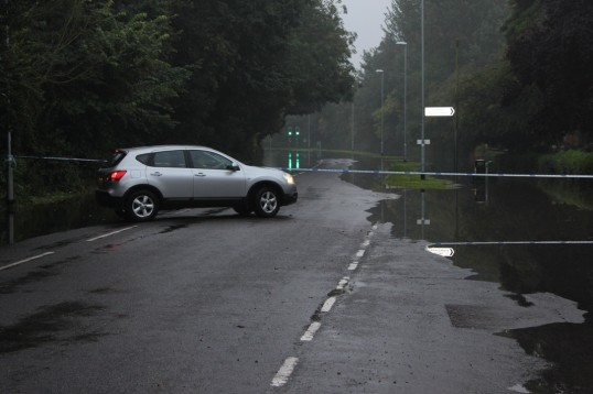 Flood, Harecroft Road