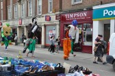 Hickathrift Giants At Wisbech Market Place