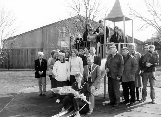 opening of playground