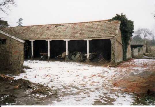 Cartsheds in the Slade before Conversion to a house