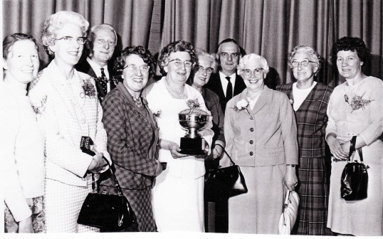 Witcham Women Institute winners of the