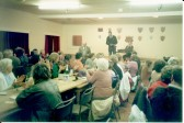 Bingo in aid of British Legion in the Village Hall.