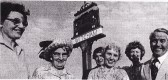 Unveiling of the Village Sign 1980