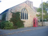 Red  Village Telephone Box