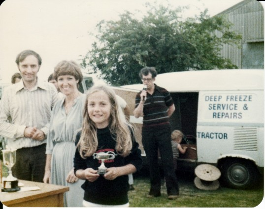 Juliet Sole Junior Peashoot Champion 1979