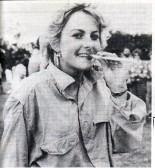 Juliet Sole ladies pea-shooting champion 1986