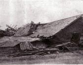 Tornado hits Witcham 1950