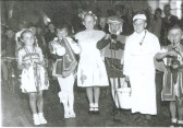 Coronation Celebrations at the Polish Refugee Camp for the village.
