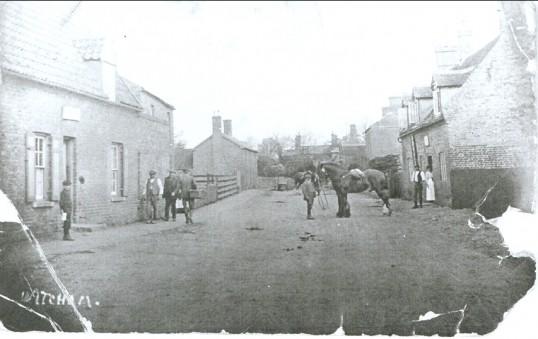 Village Scene, High Street, Witcham