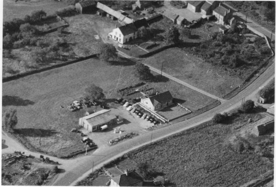 Aerial Photograph of the Slade, Witcham