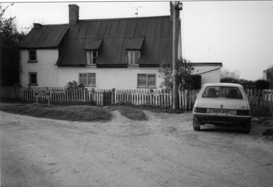 Rose Cottage (now demolished), Back Lane, Witcham