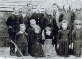 Witcham Voluntary Primary School Photograph (no names known)
