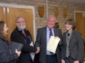 Parish Council Quality Mark 6th December 2011