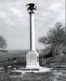 The Eagle standing at Norman Cross