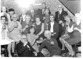 Ashton House Residents, at Yaxley, with Mrs  E. Jackson.