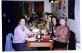 Yaxley N.S.P.C.C Xmas dinner at the Three Horseshoes, Main St.