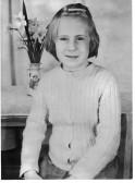 Pauline Jane Strickson, taken at school.