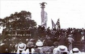 Unveiling of the original Eagle at Norman Cross