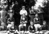 Yaxley football team